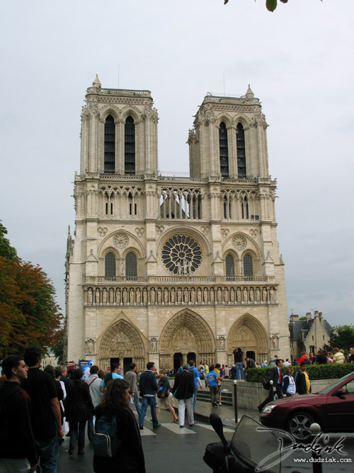 Notre Dame,  Notre Dame Cathedral,  Paris,  France