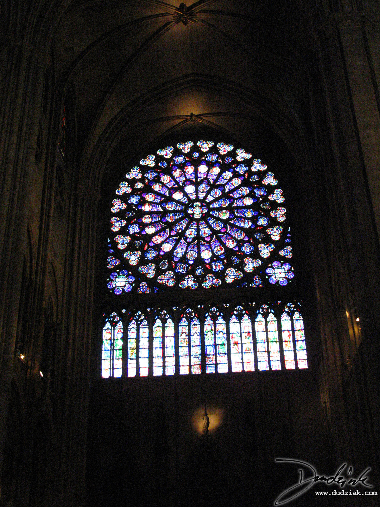 Paris,  Rose Window,  Notre Dame,  France,  Notre Dame Cathedral