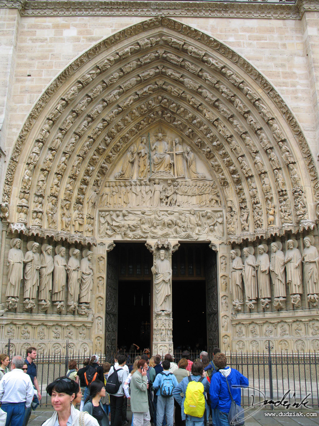 Notre Dame,  Notre Dame Cathedral,  Paris,  France,  Portal
