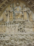 Notre Dame Tympanum of the Final Judgement