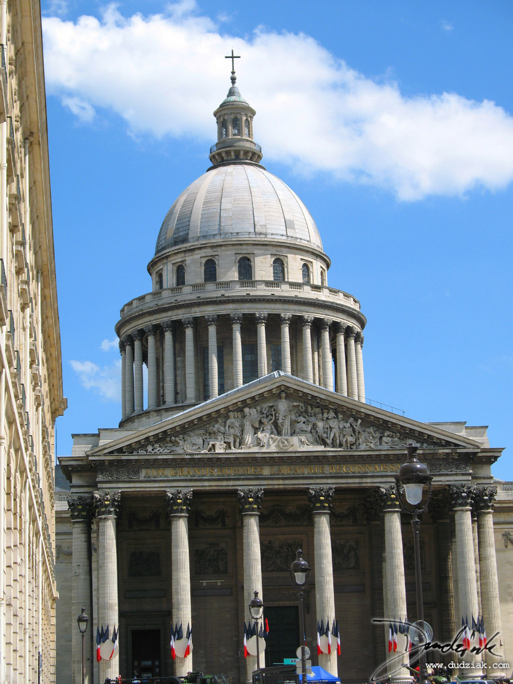 Picture of the Paris Pantheon