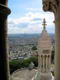Eiffel Tower as Seen from the Sacre Coeur, Sacre Coeur