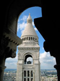 Bell Tower as Seen from the Capital Dome, Sacre Coeur