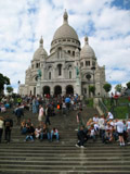 Stairs of the Sacre Coeur