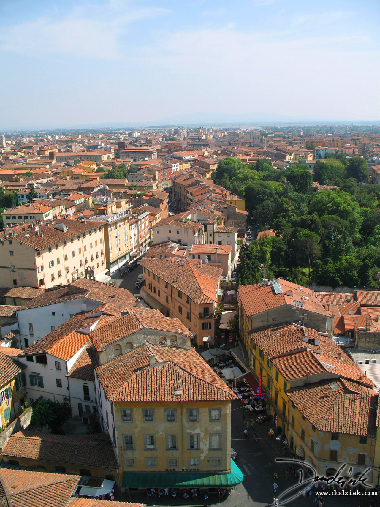 Picture of the city of Pisa.