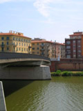 Bridge Over the Arno River, Pisa, Italy