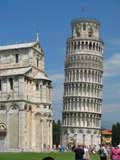 Cathedral of Pisa and Leaning Tower of Pisa