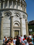Enterence to the Tower, Pisa, Italy