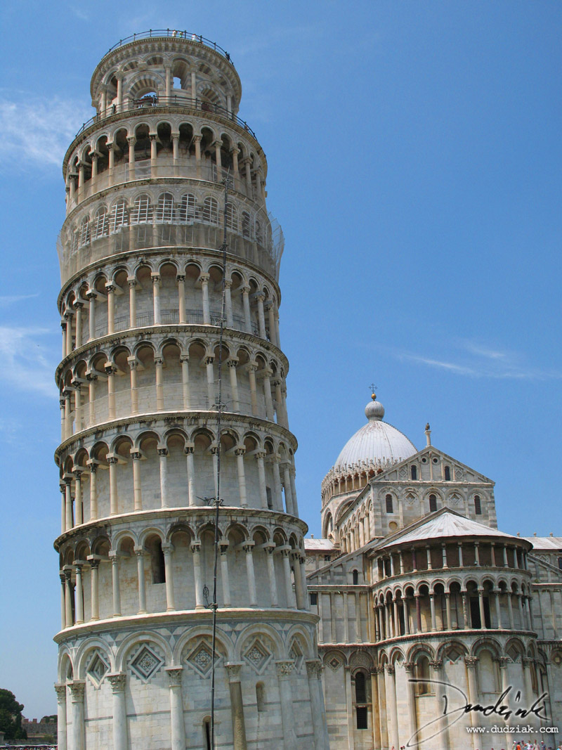 Leaning Tower of Pisa,  Pisa Italy