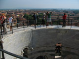 Observation Deck of the Leaning Tower of Pisa