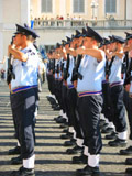 Italian Soldiers, Changing of the Guard