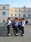 Italian Soldiers in Palazzo Quirinale, Changing of the Guard