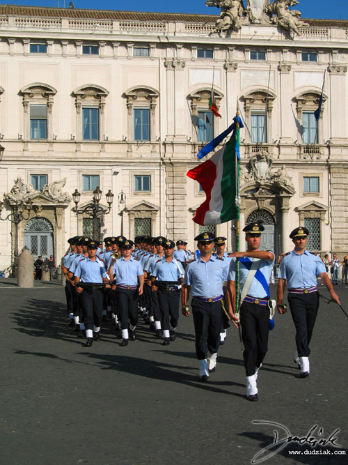 Italian Soldiers,  Italy,  Roma,  Palazzo Quirinale,  soldiers,  Rome,  changing of the guard