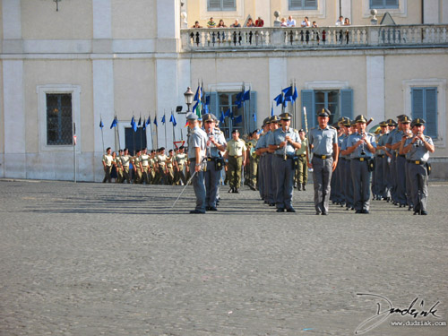 Rome,  Palazzo Quirinale,  Italian Soldiers,  Roma,  soldiers,  changing of the guard,  Italy