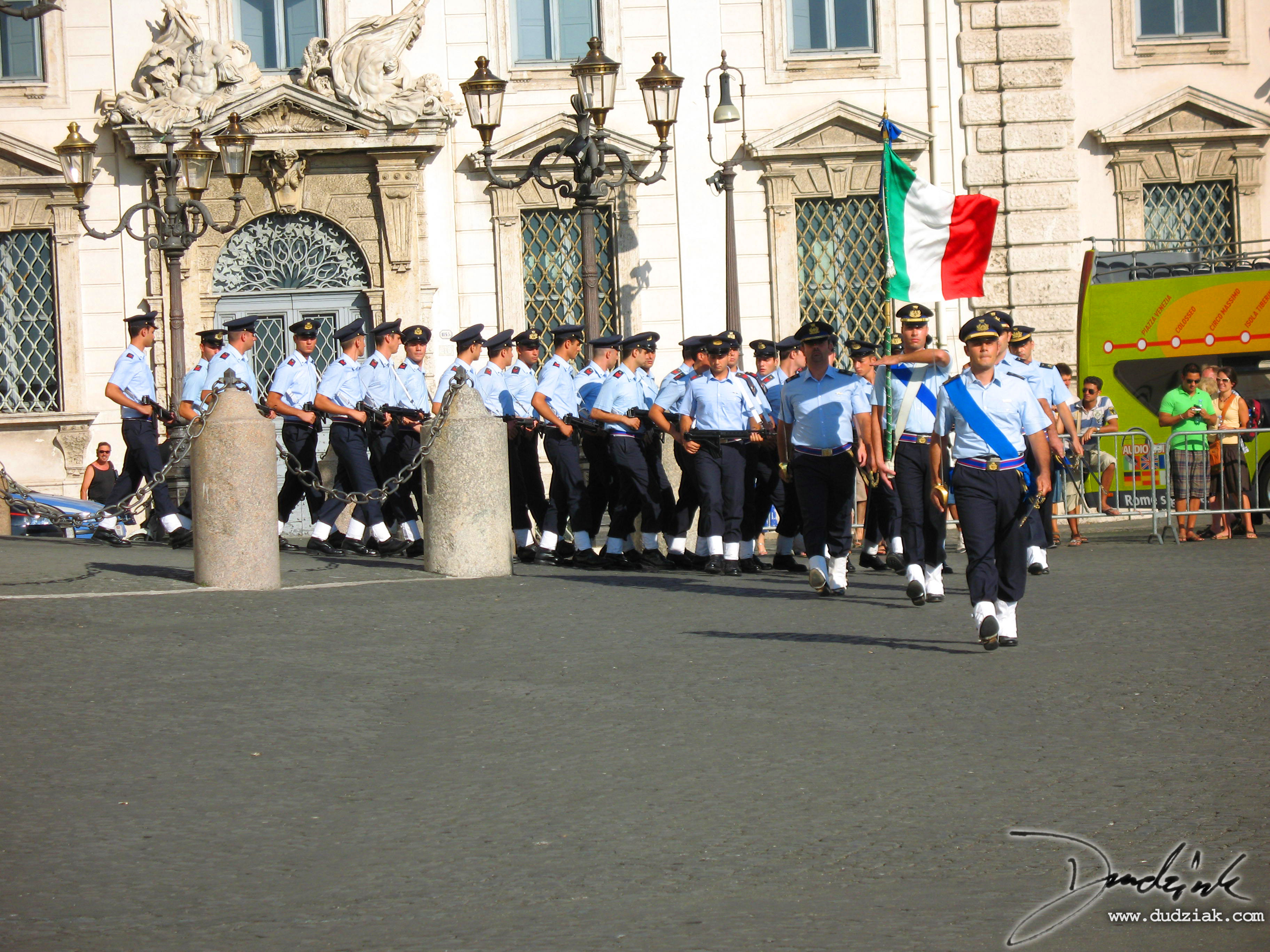 Italian Soldiers,  Palazzo Quirinale,  Roma,  changing of the guard,  Italy,  soldiers,  Rome