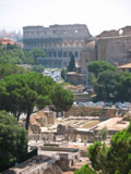 Colosseum and Roman Forum