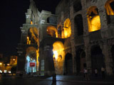 Colosseum at Night, Roman Colosseum