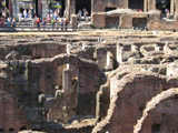 Floor of the Colosseum, Roman Colosseum