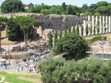Enterence to the Roman Forum