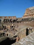 Facing West, Roman Colosseum
