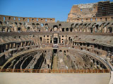Inside the Colosseum Facing West