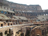 Inside the Colosseum, Roman Colosseum
