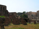 Ancient Roman Brickwork, Roman Forum