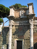 Ancient Roman Building, Roman Forum