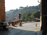Forum from the Streets, Roman Forum