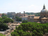 Forum, Palentine Hill, and Colosseum
