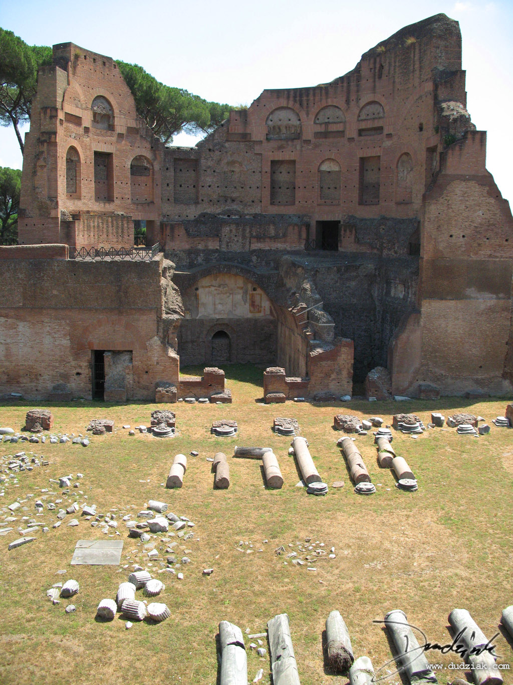 rome,  ancient ruins,  Palentine Hill,  italy,  roman fourm