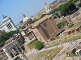 Forum from Palentine Hill, Roman Forum