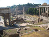 Western Side of the Roman Forum