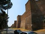 Ancient Roman City Wall