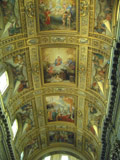 Ceiling of a Roman Church