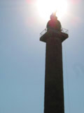 Trajan Column in the Sun