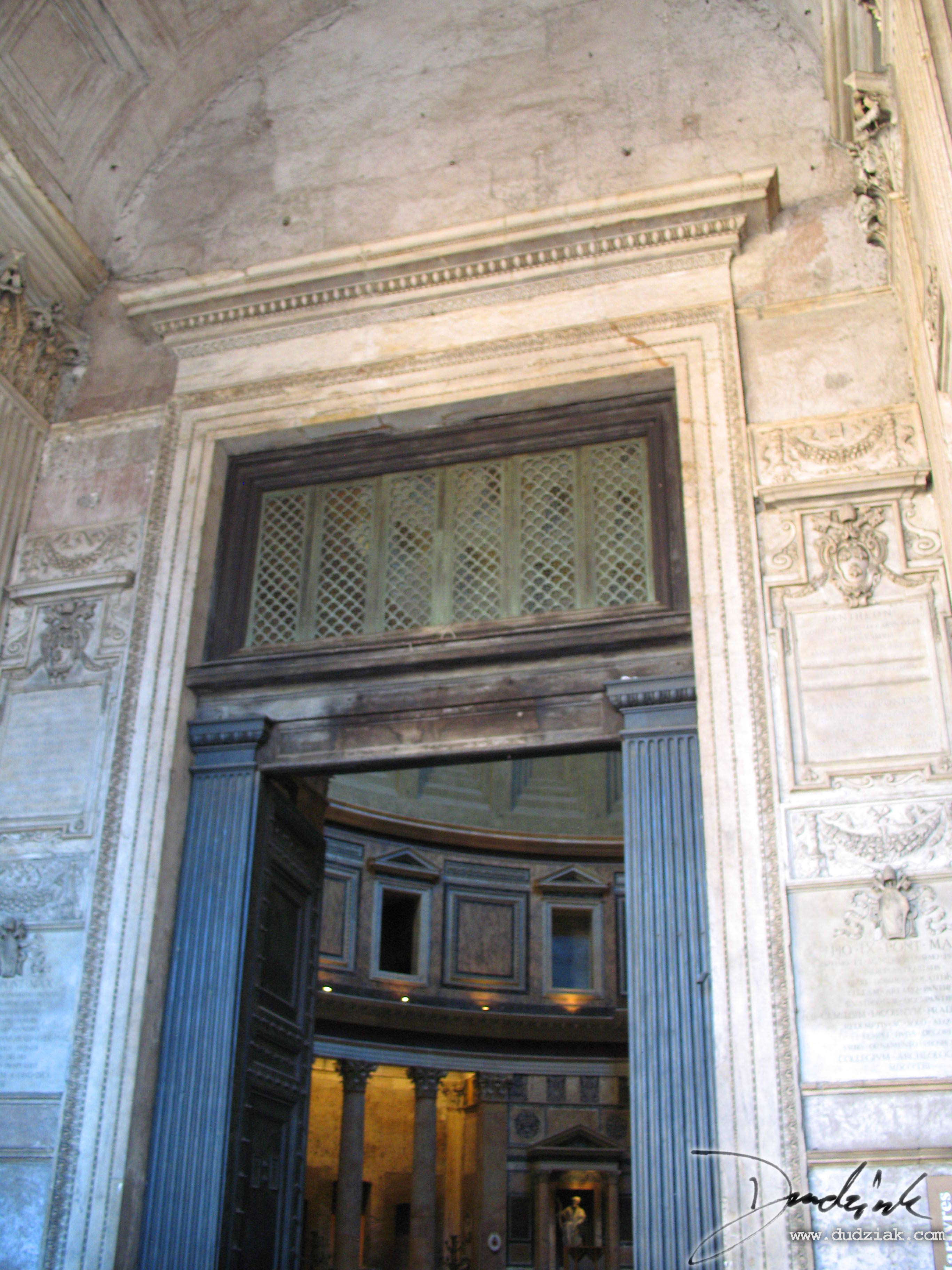 Italy,  Rome,  Roman Pantheon,  Roma,  door,  Ancient rome
