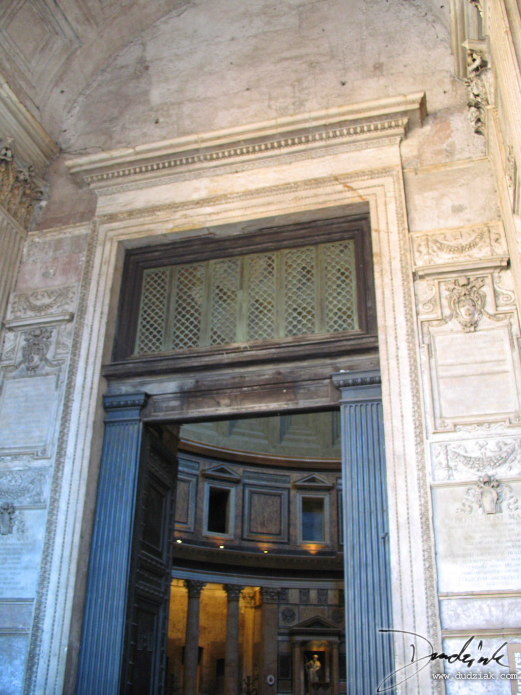 Roman Pantheon,  Roma,  door,  Italy,  Rome,  Ancient rome