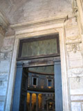 Door to the Pantheon