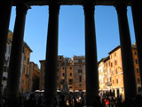 View from the Pantheon Portico