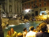 Trevi Fountain at Night, Trevi Fountain