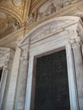 Doors to Saint Peter's Basilica