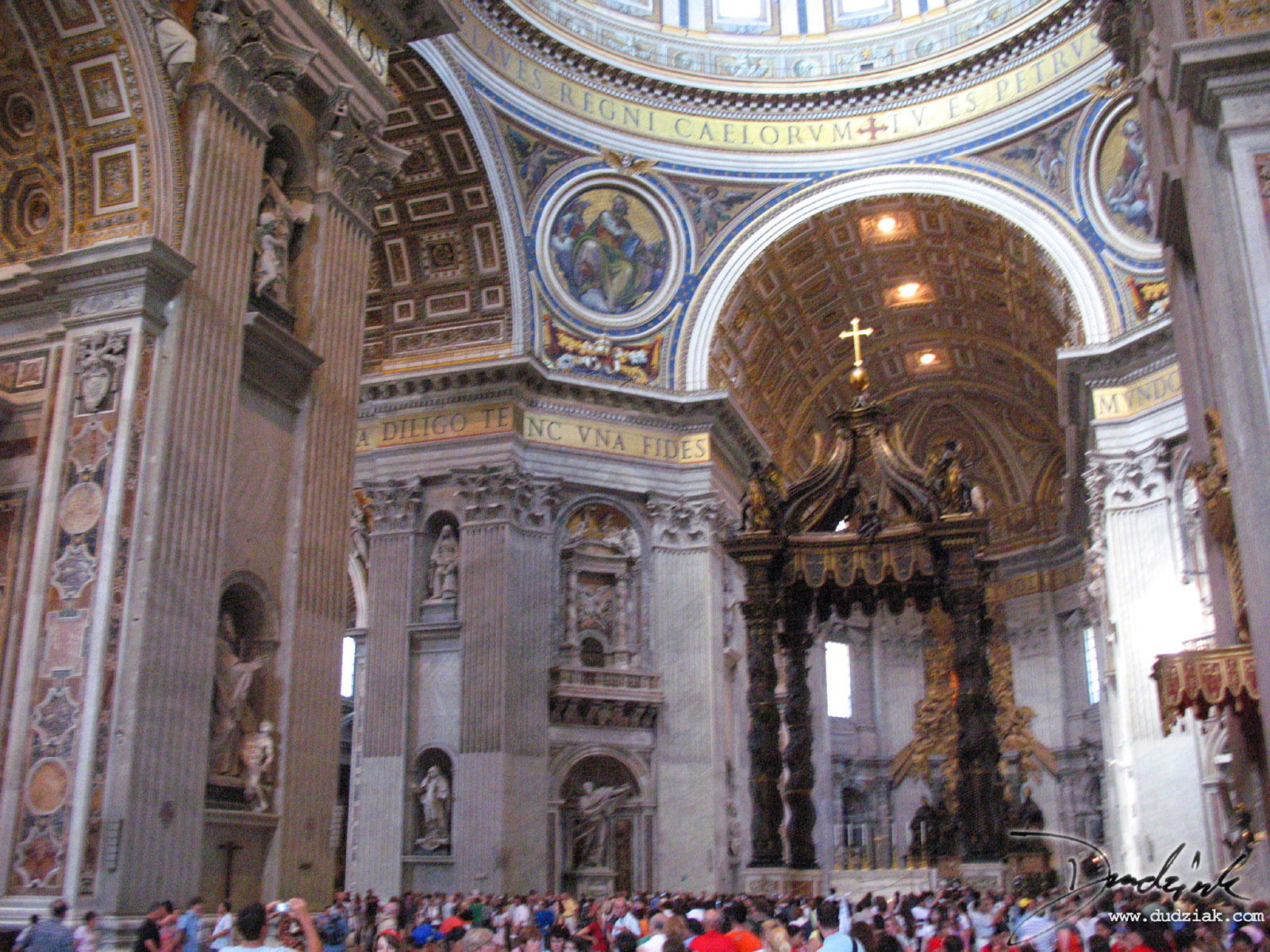 St Peters Basilica http://www.dudziak.com/picture.php/inside_saint_peters_basilica7870