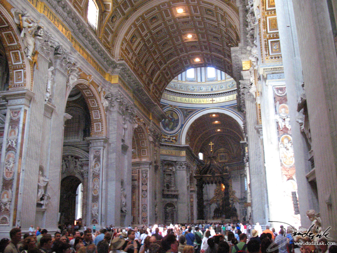 Saint Peter's Basilica interior.