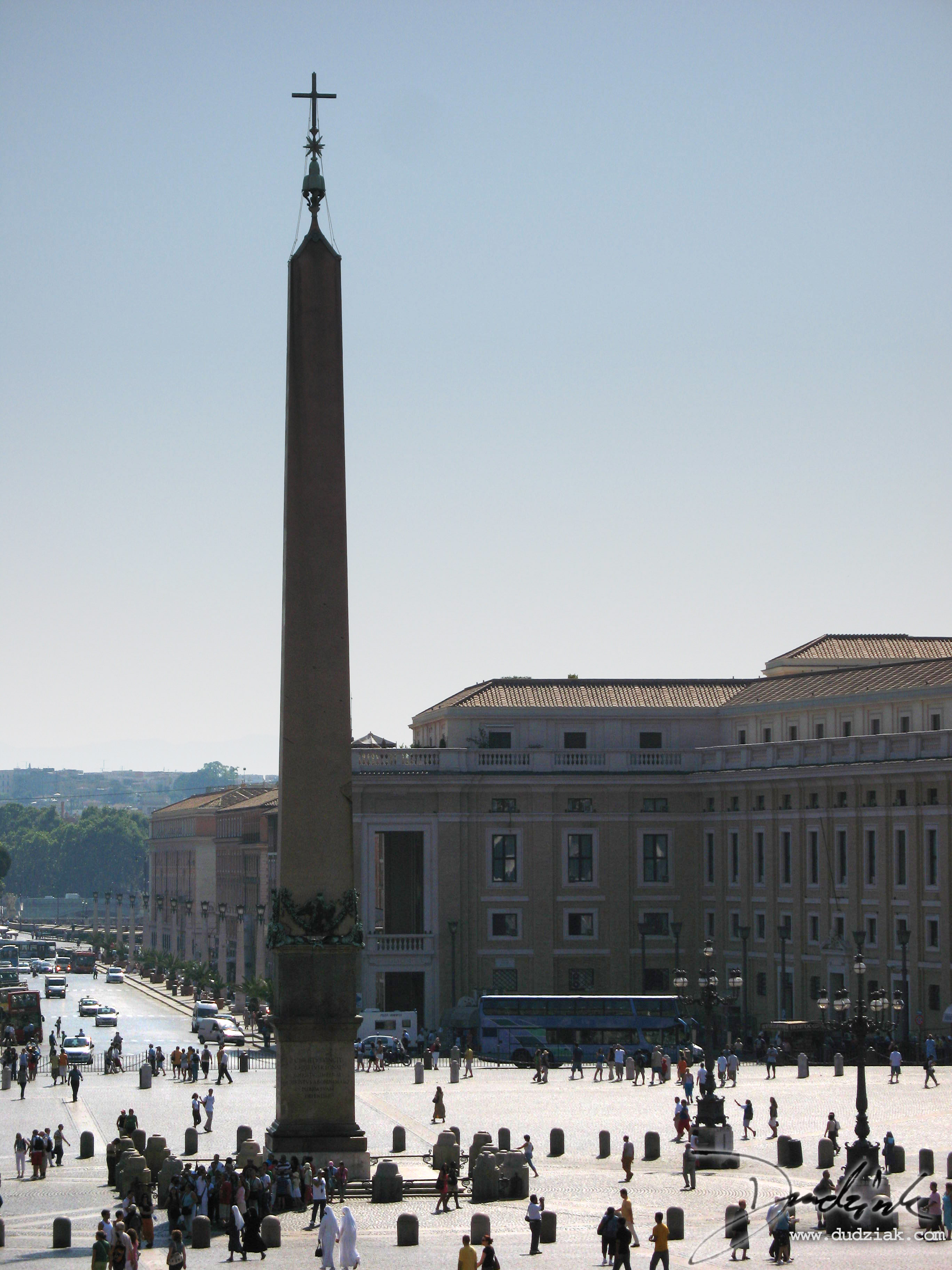 Saint Peter's Square and Obelisk.