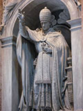 Statue of a Pope, Vatican City