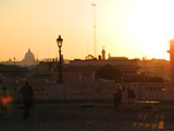 Vatican Dome in the Distance