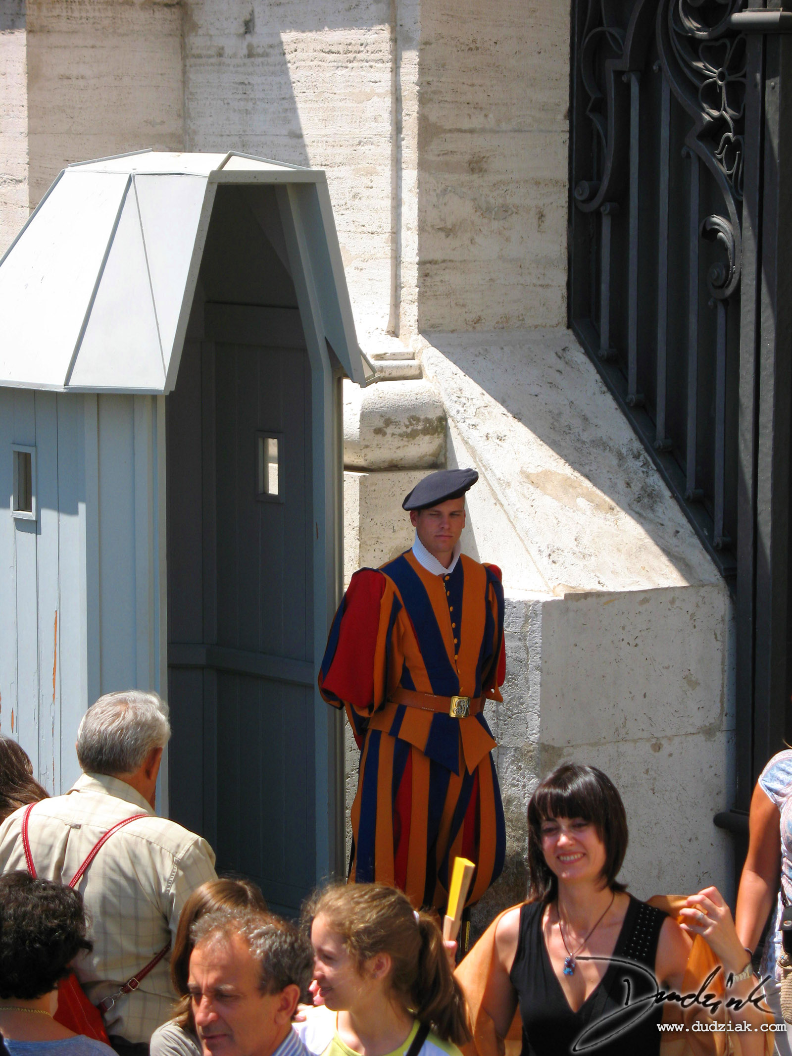 Picture of a Vatican Guard.
