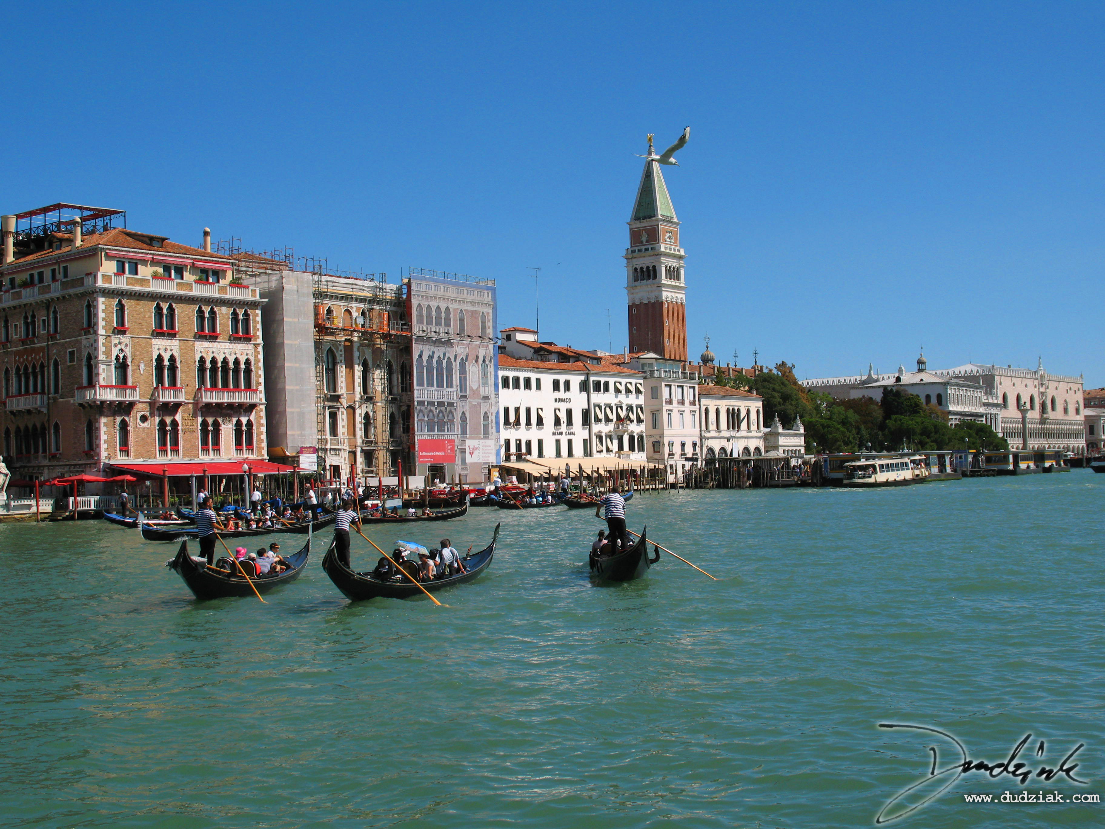venice,  Gondolier,  canale grande,  italy,  grand canal
