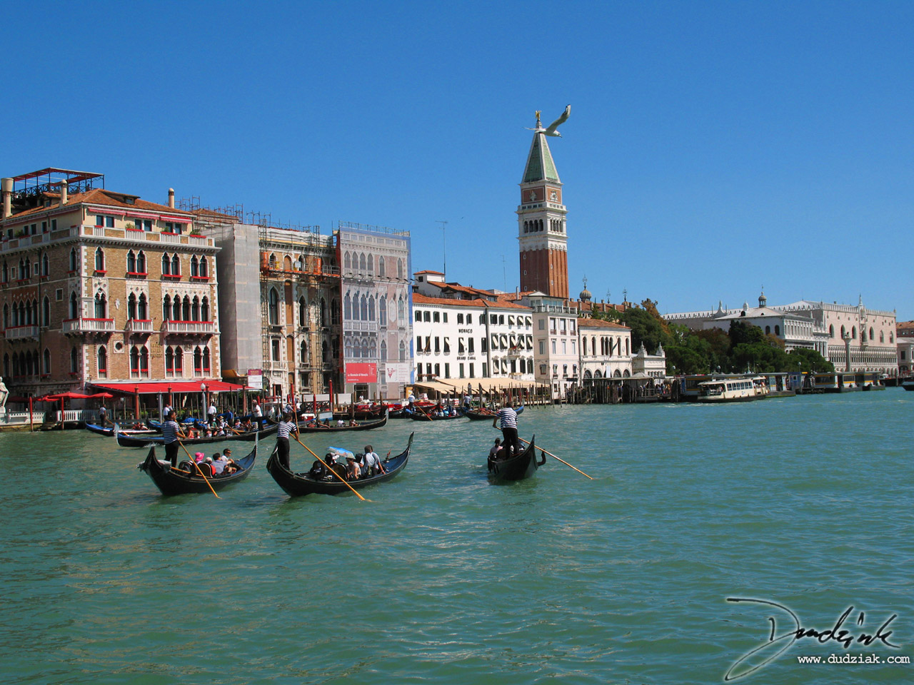 canale grande,  grand canal,  Gondolier,  venice,  italy